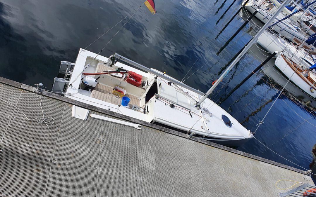 Sicherheit auf kleinen Booten