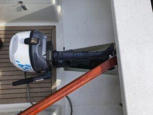 Außenborder hochgeklappt BS750
