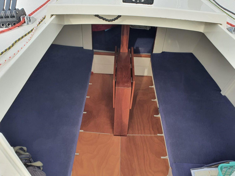 Salon Sicht von Cockpit BS750